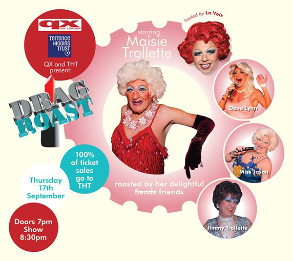Drag Roast with Maisie Trollette