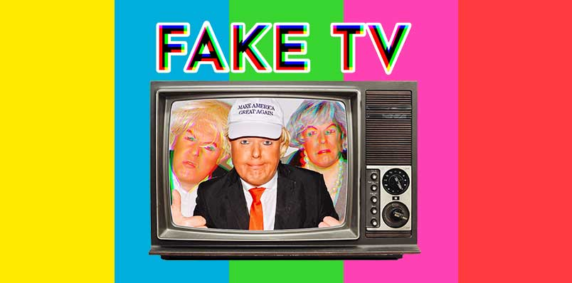 Roland Saunders: Fake TV