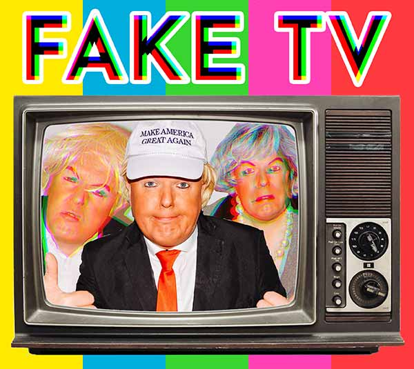 Roland Saunders: Fake TV