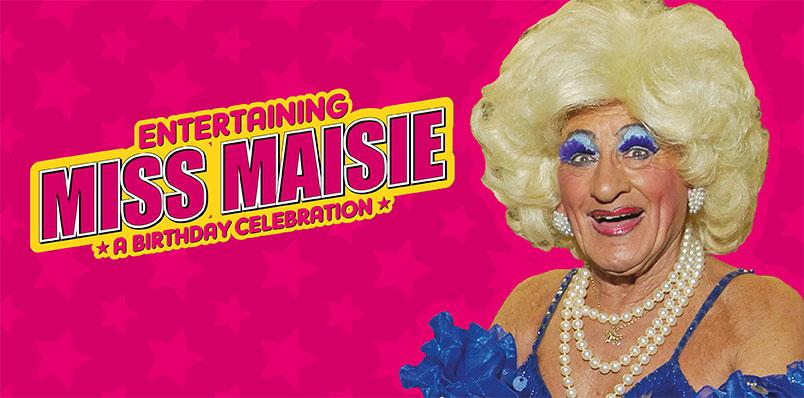 Entertaining Miss Maisie!