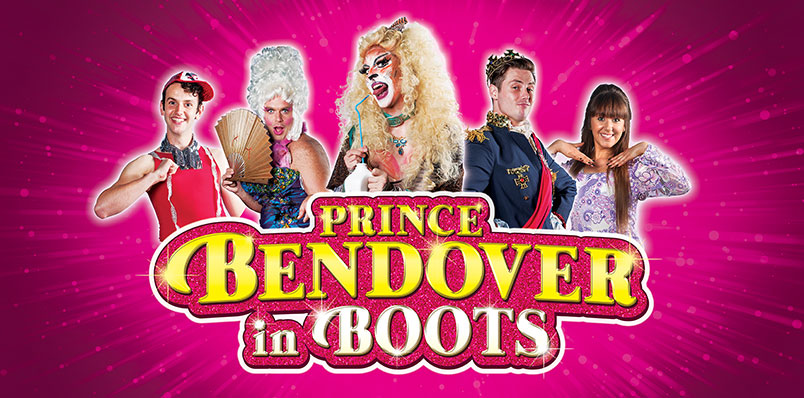 The 2016 panto: Prince Bendover in Boots.