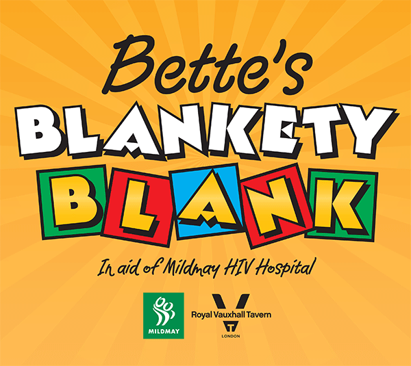 Bette's Blankety Blank in aid of MildMay HIV Hospice