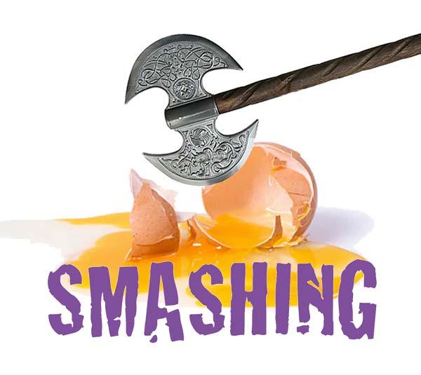Smashing by Annabel Pribelszki