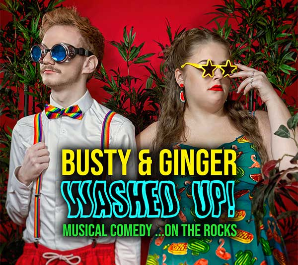 Busty & Ginger Washed Up!