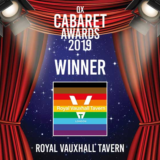 QX Cabaret Awards Winner