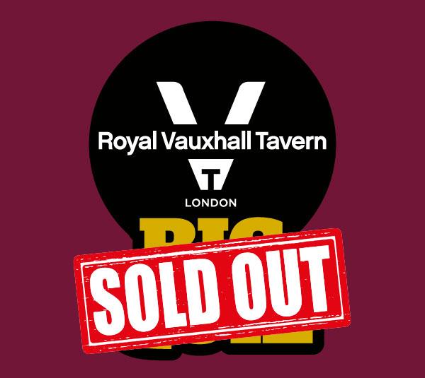 Royal Vauxhall Tavern BIG QUIZ