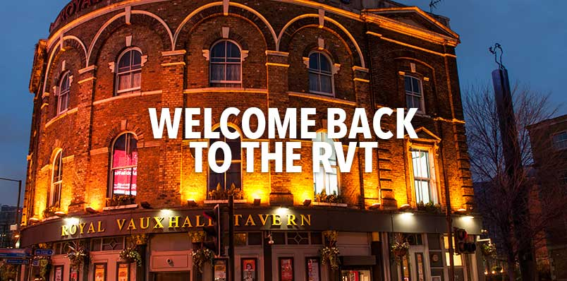 Welcome back to the RVT