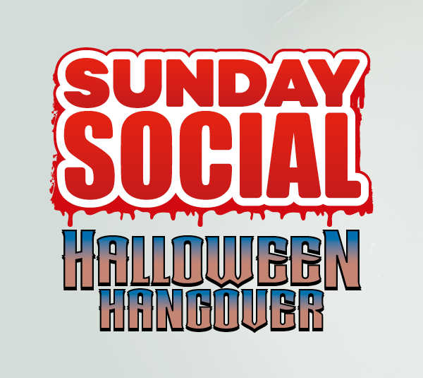 Sunday Social Halloween Hangover with Danny Beard