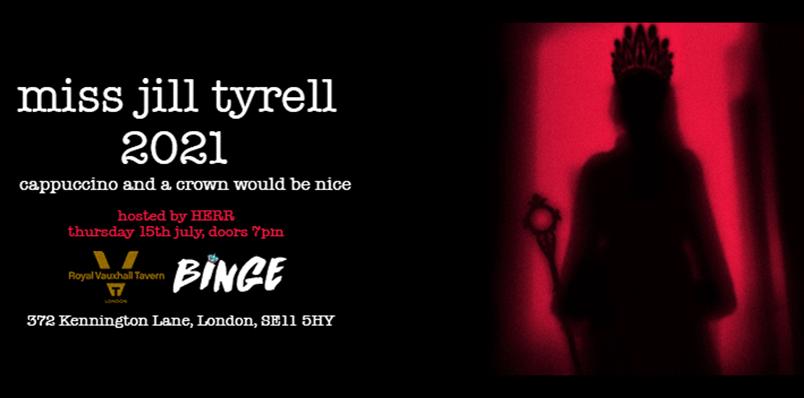 Miss Jill Tyrell 2021