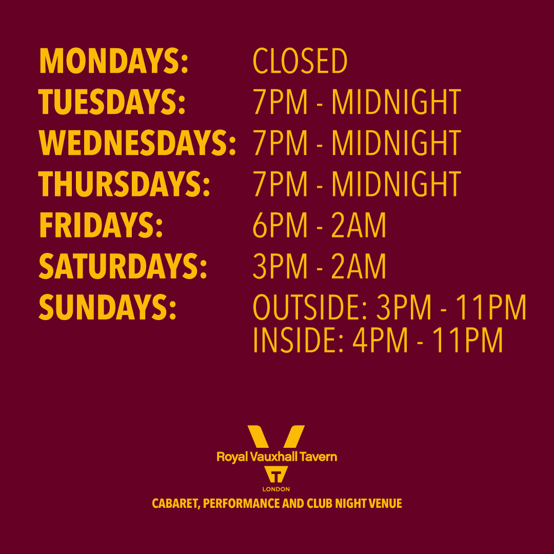 RVT opening times
